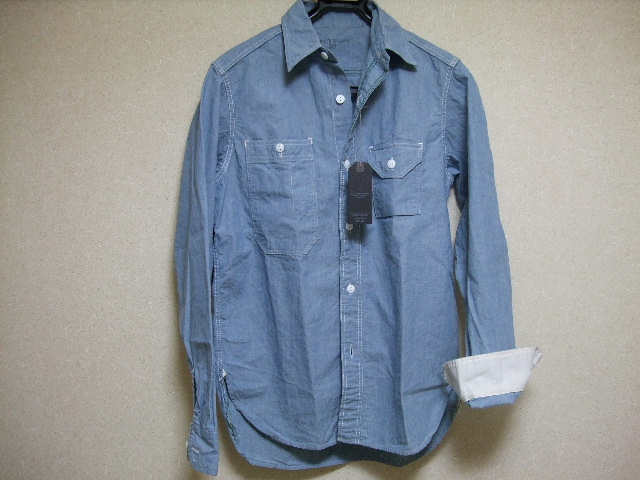 08_04SUNNY SPORTSのシャンブレーシャツ01.JPG